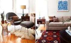 Mid Century Modern  Aztec Carpet  www.natashafatah.blogspot.com
