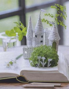 Now that's a good read! Amazing book art.