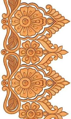 Simply Hyderabad Fashion Embroidery Design