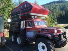 Crazy 6x6 Jeep Truck Camper - Expedition Motorhome Journal