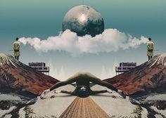 Artworks 2013 by Julien Pacaud, via Behance