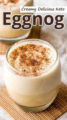 Recommended Tips:Creamy Delicious Keto Eggnog - Recommended Tips Ketogenic Diet Plan, Diet Plan Menu, Ketogenic Recipes, Low Carb Recipes, Low Carb Eggnog Recipe, Ketosis Diet, Sugar Free Eggnog Recipe, Paleo Eggnog, Coconut Recipes