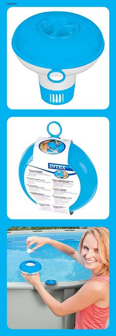 Intex Floating Chemical Dosierschwimmer Poolzubehor Chlorspender 12 7 Cm In 2020 Floating Pool Schwimmen