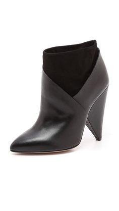 50% off IRO Kasey Cone Heel Booties. Great boots. Shopbop.com