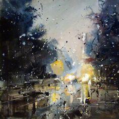 Pavel Guzenko Abstract Painting