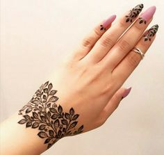 Wedding Henna Tattoo Designs - this is latest collection 100 Henna Designs for Wedding on Hand Brides for Beginners.