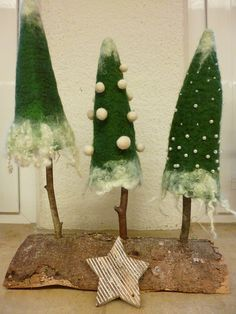 Bildergebnis für filzen weihnachten