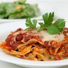 sausag, garlic, food, deep dish, art recipes, dish lasagna, pasta, lasagna recipes, freezer meal