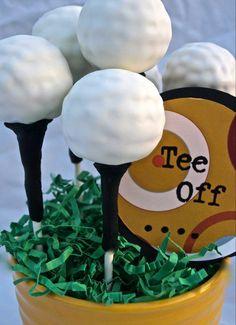Golf cakepops