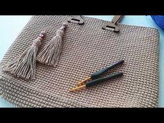 Starter für häufige Nadelbeutel - 1 - DIY and crafts Crochet Clutch Pattern, Crochet Tote, Crochet Handbags, Crochet Blanket Patterns, Baby Knitting Patterns, Crochet Stitches, Knit Crochet, Crotchet Bags, Knitted Bags