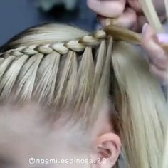 Stunning hairstyle hope you like it hairstyles hair hairgoals hairstylist hairstyling hairart hairoftheday hairdresser haironfleek 7 new braided hairstyles to try now Girl Hair Dos, Baby Girl Hairstyles, Toddler Hairstyles, Simple Girls Hairstyles, Volleyball Hairstyles, Blonde Hairstyles, Princess Hairstyles, Beautiful Hairstyles, Natural Hairstyles