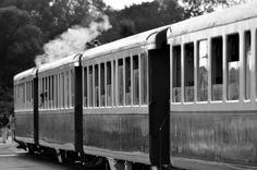 #bay sum #black and white #former #france #locomotive #model railroad #normandy #old locomotive #rails #smoke #sncf #station #steam #steam iron #steam locomotive #steam train #the machine #track #train #transportati