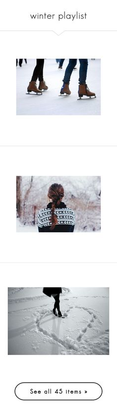 """winter playlist"" by onefaultatthedisco ❤ liked on Polyvore featuring pictures, backgrounds, photos, winter, christmas, filler, people, icons, animals and dogs"