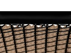 Beige Ridged Slats for Chain Link Fence Privacy Landscaping, Small Backyard Landscaping, Backyard Gates, Vinyl Privacy Fence, Bali Garden, Small Balcony Design, Chain Link Fence, Fence Design, Outdoor Living