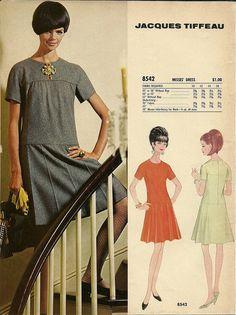 jacques tiffeau for McCalls Patterns 1966