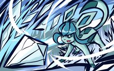 Glaceon | Ice Shard by ishmam on DeviantArt