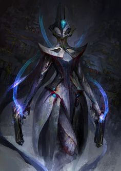 Totally starting a campaign for DE to give us cloaks in game, so we can fully live out our space cowboy fantasies. I can never make enough mesa paintings so here's the second one