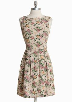 Peony Pink Printed Dress By Pink Martini | Modern Vintage Dresses _ something different?