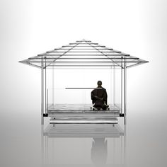 Tokujin Yoshioka ontwerpt glazen theehuis - PhotoID #328316