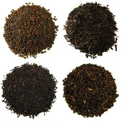 """Morning Wake Up Sampler - When you need a morning """"pick me up"""" All four of the blends below will not disappoint.  Full bodied black teas are combined to make the finest Breakfast Blends."""