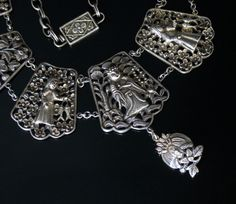PrivateCollection's | PictureBook | 08-08-26 Chinese Silver Wedding Necklace