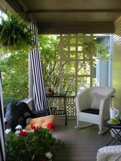 decorating porch with curtains | ... Curtains for Porch and Patio Designs, 22 Summer Decorating Ideas