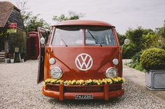 Image by Sarah London - Dita by Naomi Neoh And Groom In Tweed Addict For A Rustic Wedding At Chocolate Box Thatched Farmhouse Marleybrooke House Kent With A Victorian Fayre And A Vintage VW Camper With Images From Sarah London Photography
