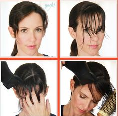 Hairstyle Tutorial: Side Swept Bangs with Cowlick