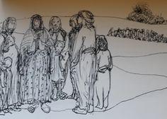 Kurdish Genocide Anfal/1988 Drawing 15x21cm 2012