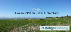 Ahornvej 13, 4281 Gørlev - 1. række Dalby Strand. 2190 m2 fritidsgrund, 50 meter til Storebælt #gørlev #fritidsgrund #selvsalg #grundsalg