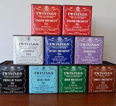 Retro Twinings Tea Tins « Rusty Timber
