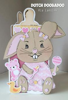 Box, Beren, Teddy Bear, Animals, Cards, Rabbits, Snare Drum, Animales, Animaux