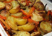 Cantinho Vegetariano: Legumes Assados ou Rústicos (vegana)