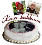 Kuva kakkuun
