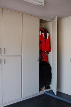 Harley Davidson Garage Cabinets