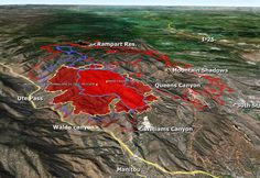 Terrible Epic Colorado Fire Evacuation Area 32 000 People Places