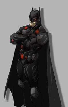 Batman re-design