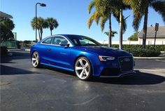 2013 Audi RS5 - Sepang Blue / APR