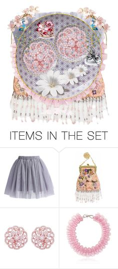 """""""Lily Pond"""" by aqualyra ❤ liked on Polyvore featuring art, Collage and artset"""