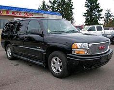 2004 GMC Yukon Denali XL Cheap Full Size SUV For Sale — $11995