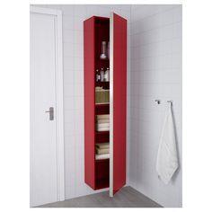 Ikea 2014 Fall GODMORGON/BRÅVIKEN red high-gloss wash-stand with ...