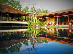 Could you see yourself reflected in Cat Tuong Quan's meditation lake?  http://cattuongquan.com/