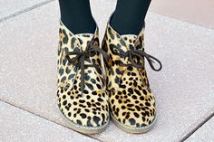 Smashing Style: outfit of the day: animal prints, leopard wedges