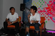 Talk show with Ryu Nakamura at Burton Osaka.  中村竜くんとバートン大阪でのトークショウ    ⇒ http://www.facebook.com/ichigosag