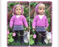 19 amerikanisches Mädchen Puppe zufällige Kleid Set von jacknitss