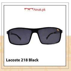 e32f49c1ec1 Check out the latest Lacoste sunglasses only at Ainak.pk Buy yours   www.