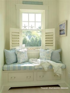 Plush Coastal Window Perch !