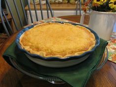 Mommy's Kitchen - Old Fashioned & Southern Style Cooking: Buttermilk Pie