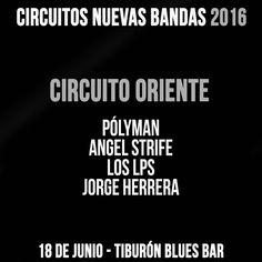 Bandas: Pólyman Angel Strife Los LPS Jorge Herrera Lugar: Tiburón Club Bar Puerto La Cruz. Venezuela