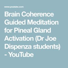 Brain Synchronization Guided Meditation for Pineal Gland Activation Meditation Quotes, Healing Meditation, Meditation Music, Mindfulness Meditation, Guided Meditation, Meditation For Beginners, Meditation Youtube, Law Of Attraction Meditation, Spiritual Eyes